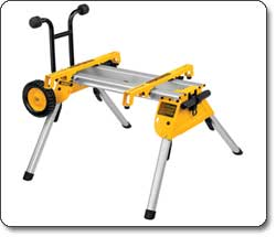 Dewalt Rolling Table Saw Stand Dw7440rs Universal Bench