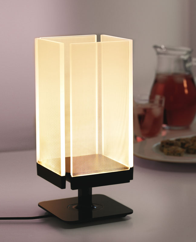 Energizer Household Lighting Square Table Accent Led Touch
