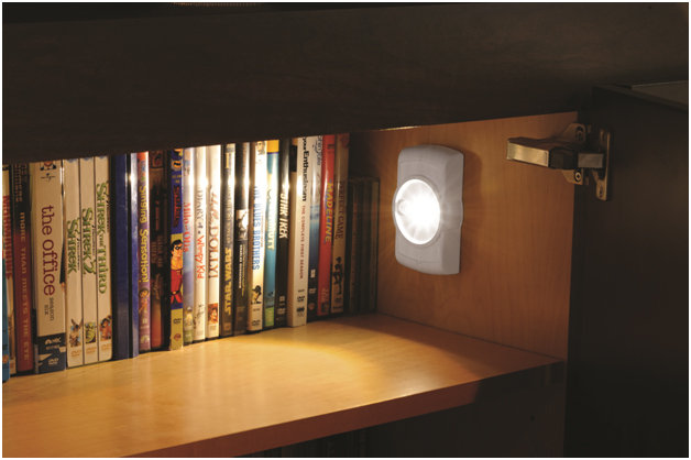 Amazon Com Mr Beams Mb852 Indoor Wireless Slim Led Light