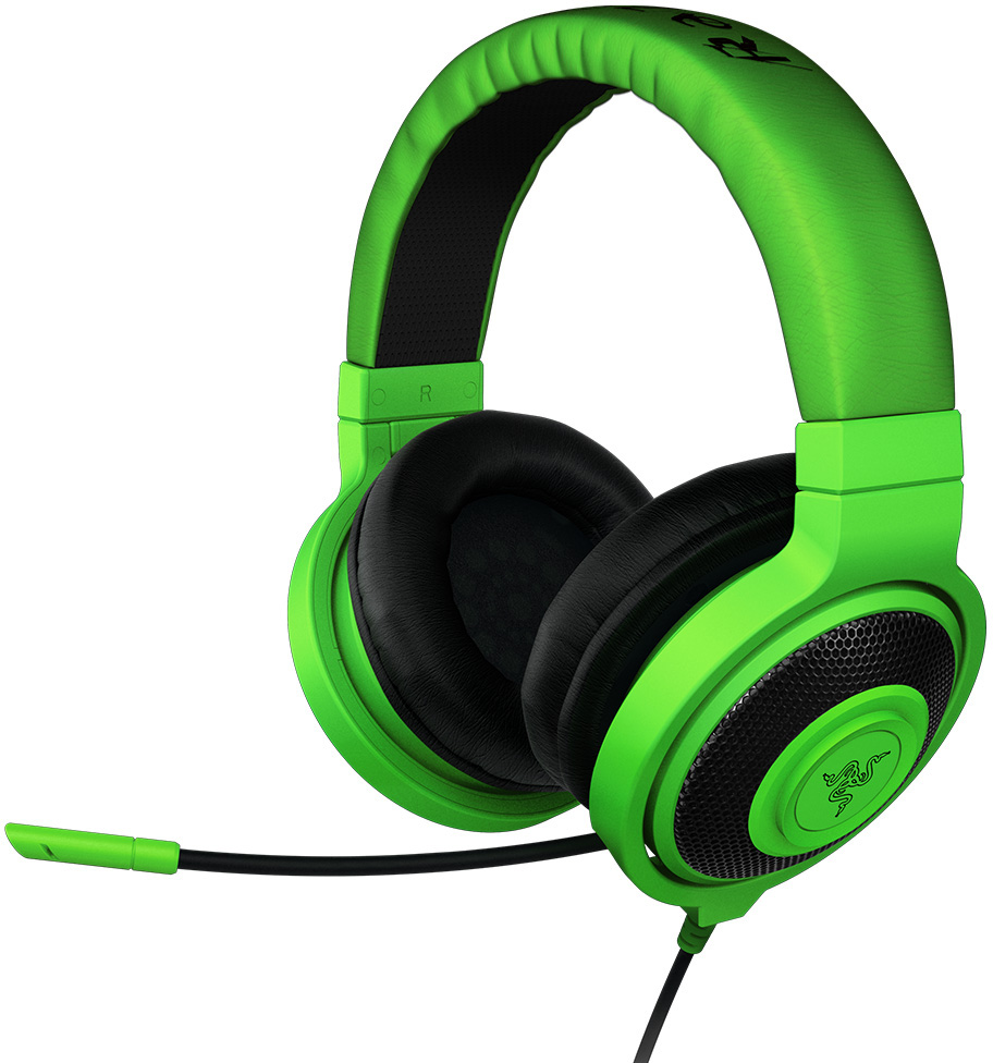 Razer Kraken Pro Over Ear Pc And Music Headset Green