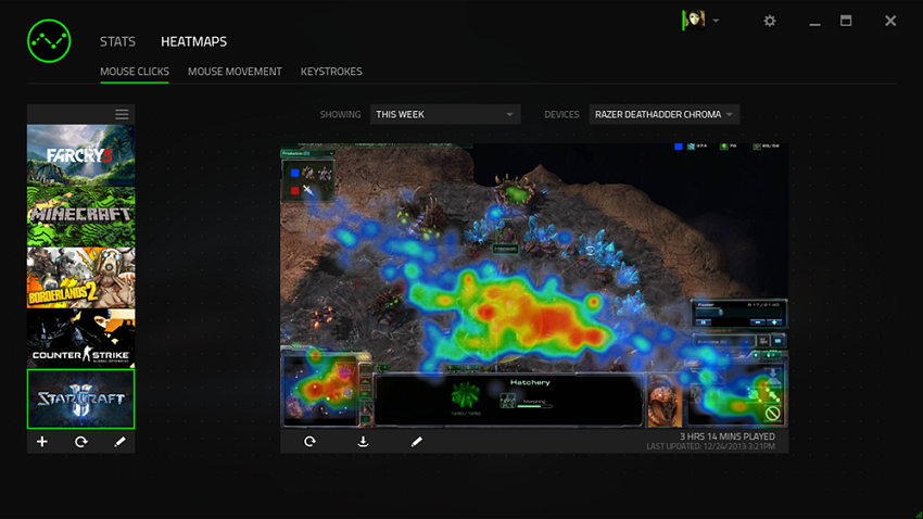 Razer DeathAdder Chroma - Multi-Color Ergonomic Gaming Mice – Novero