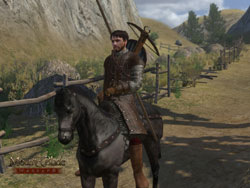Mounted hero image from Mount & Blade: Warband