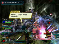 71272a97cb5 Multiplayer screen from Phantasy Star Portable 2