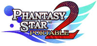 b675bf51e56 Phantasy Star Portable 2 game logo