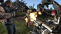 FPS/RPG hybrid gameplay in Borderlands