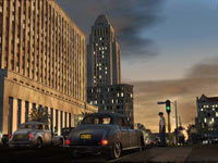 A historically correct view of post-war downtown Los Angeles from L.A. Noire