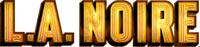 L.A. Noire game logo