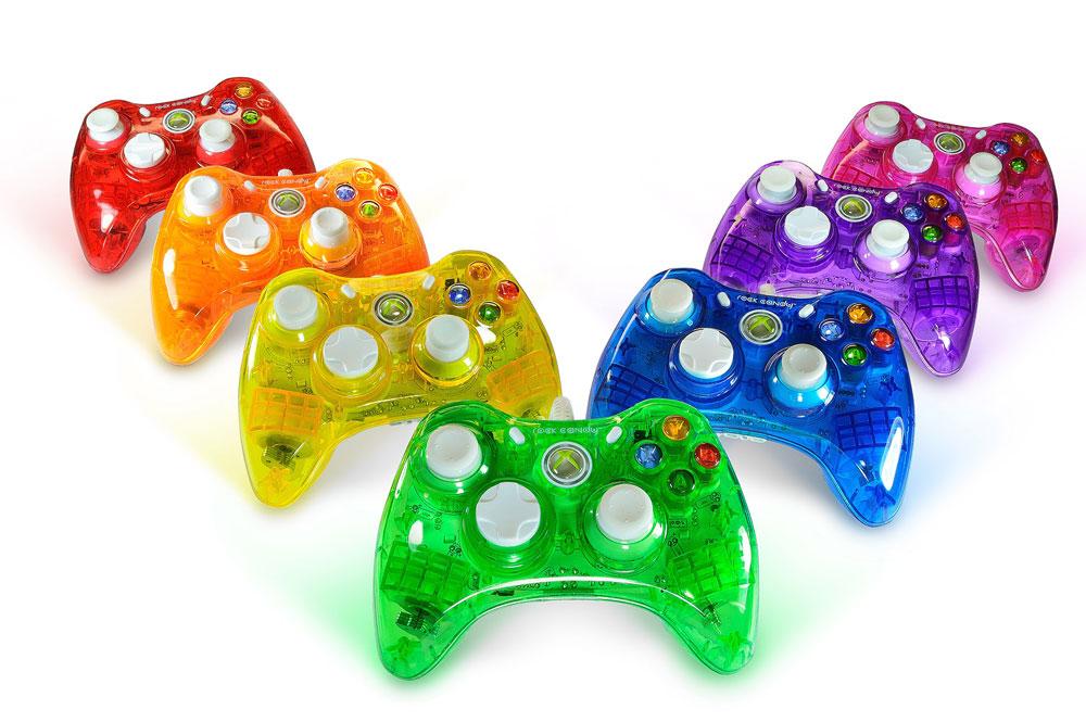 Amazon com  Rock Candy Xbox 360 Controller - Pink  Video GamesXbox 360 Controller Designs