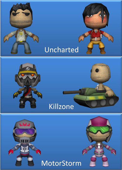 List of all DLC with LittleBigPlanet for the PSP