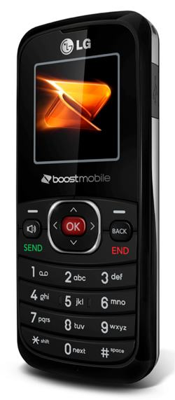 LG 102 Prepaid Phone (Boost Mobile) on PopScreen