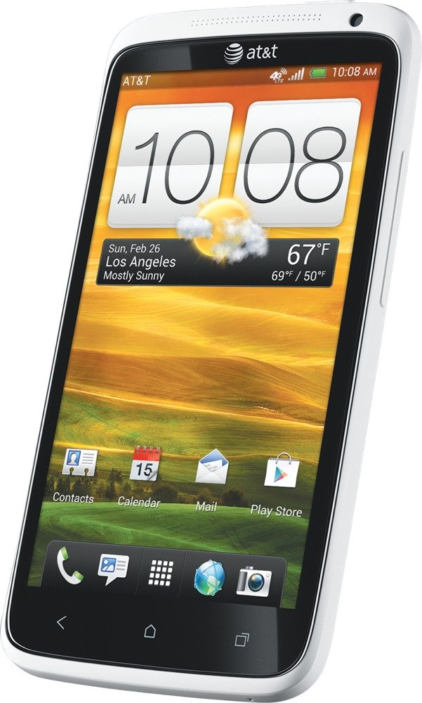 htc one x white 16gb at t cell phones accessories. Black Bedroom Furniture Sets. Home Design Ideas