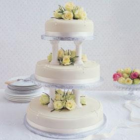 M S Plain Iced Sponge Cake
