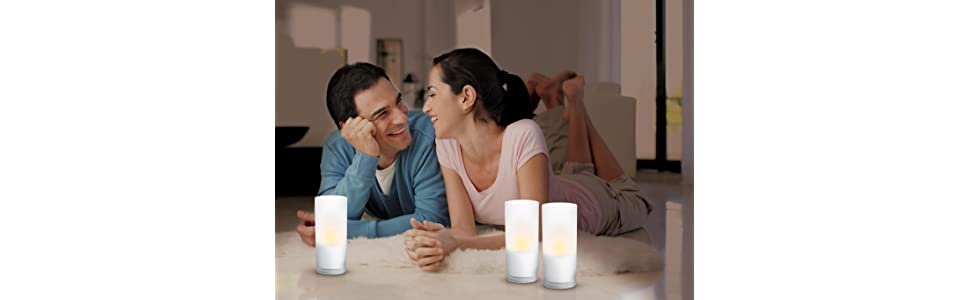 Philips Imageo Led Rechargeable Candle Lights White