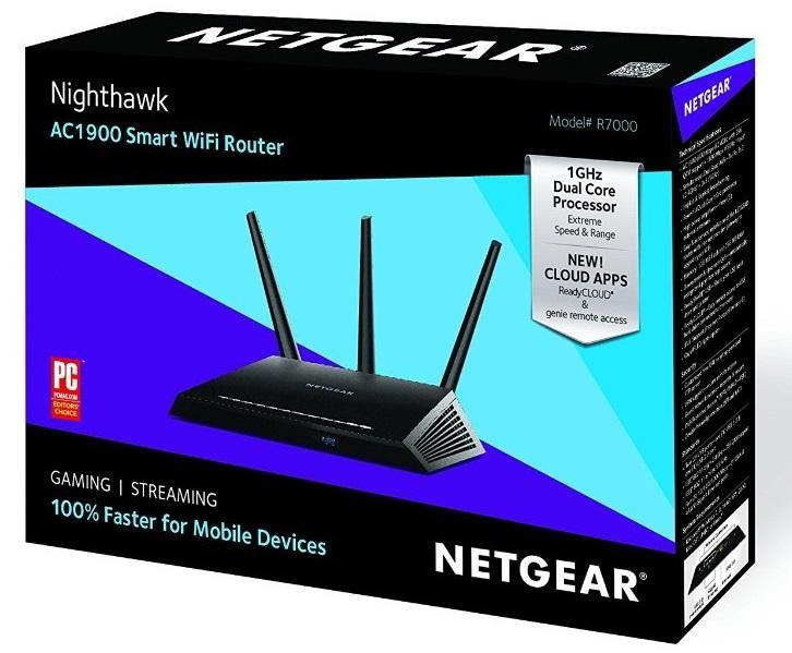 Netgear R7000 100uks R7000 Nighthawk Ac1900 Dual Band
