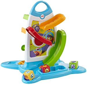 Fisher Price Roller Blocks Play Wall Amazon Co Uk Toys
