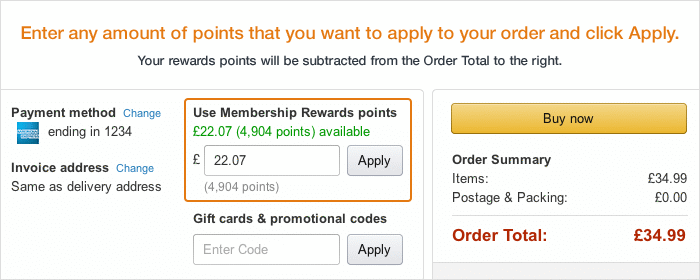 amazon points balance