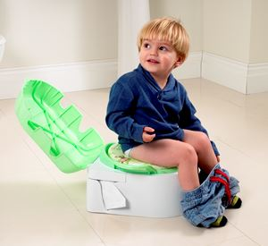 Babyway Deluxe Tot Pot Step Stool Padded Toilet Seat 3