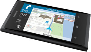 Nokia Lumia 800 with free Drive navigation included
