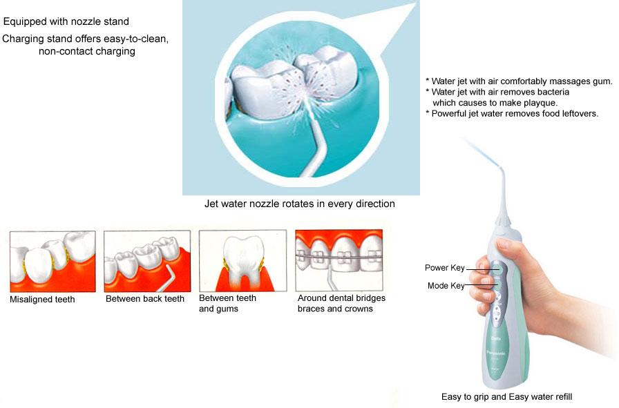 Panasonic Ew Dj40 Dentacare Cordless Rechargeable Oral