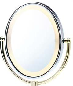 Revlon 9426u Illuminated Oval Mirror 5 X Magnification Ebay
