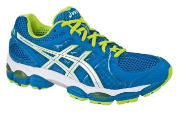 ASICS Men's Gel-Nimbus 14 Running Shoes, Blue/Green, UK15
