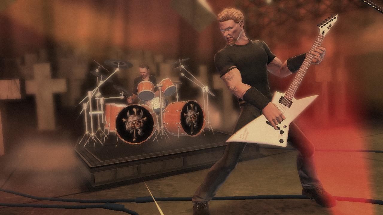 guitar hero metallica guitar bundle ps3 pc video games. Black Bedroom Furniture Sets. Home Design Ideas