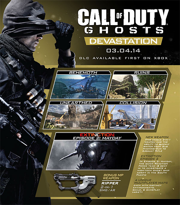 First cod ghosts map pack b--b top 2019