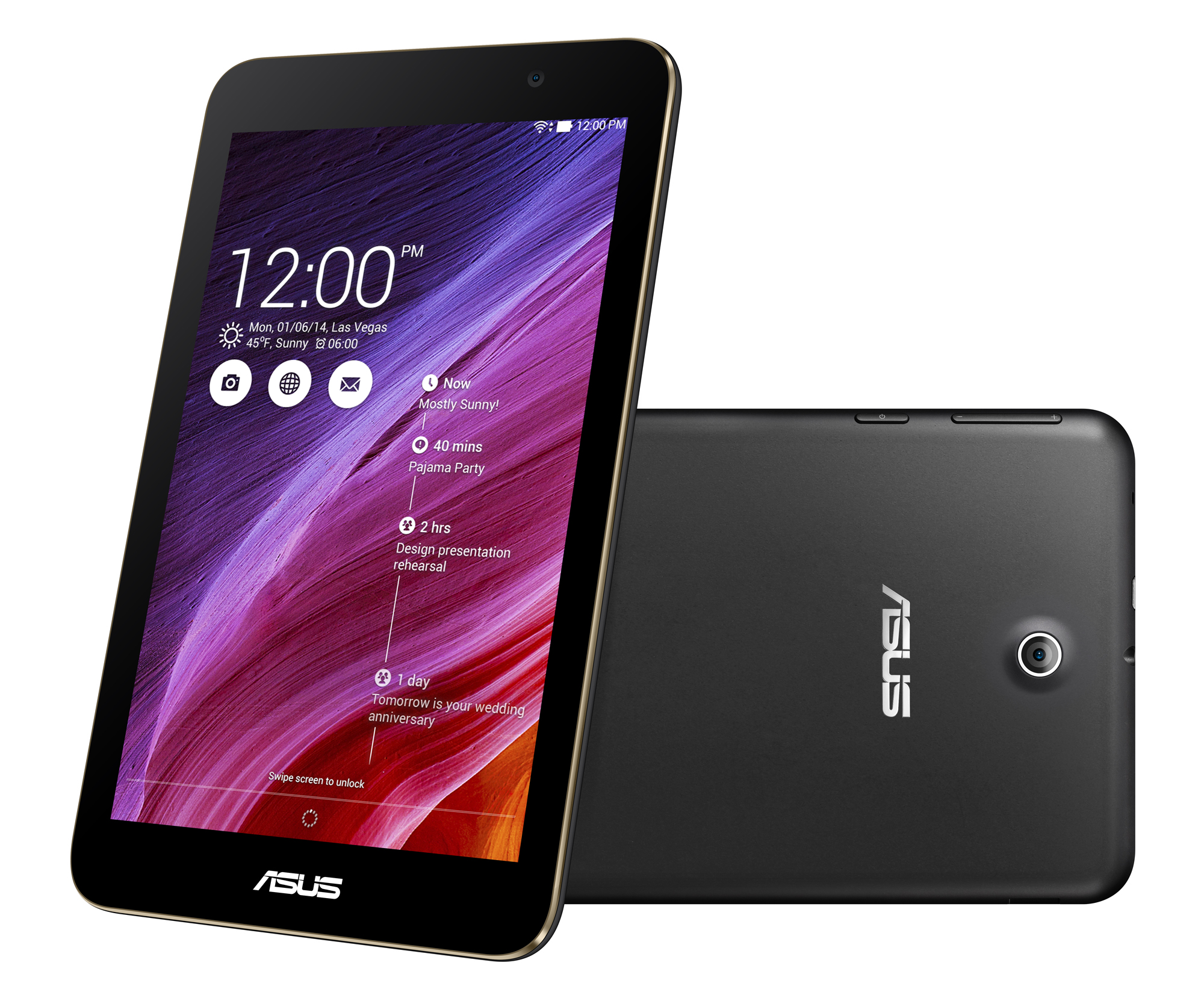 ASUS MeMO Pad 7 (ME176CX) 7-inch Tablet (Black) - (Intel Atom Z3745 1.33GHz, 1GB RAM, 16GB ...