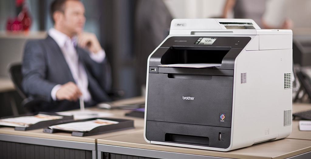 Brother Mfc L8650cdw A4 Colour Laser Multifunction Printer