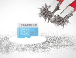 Samsung Standard MicroSDHC Memory Card