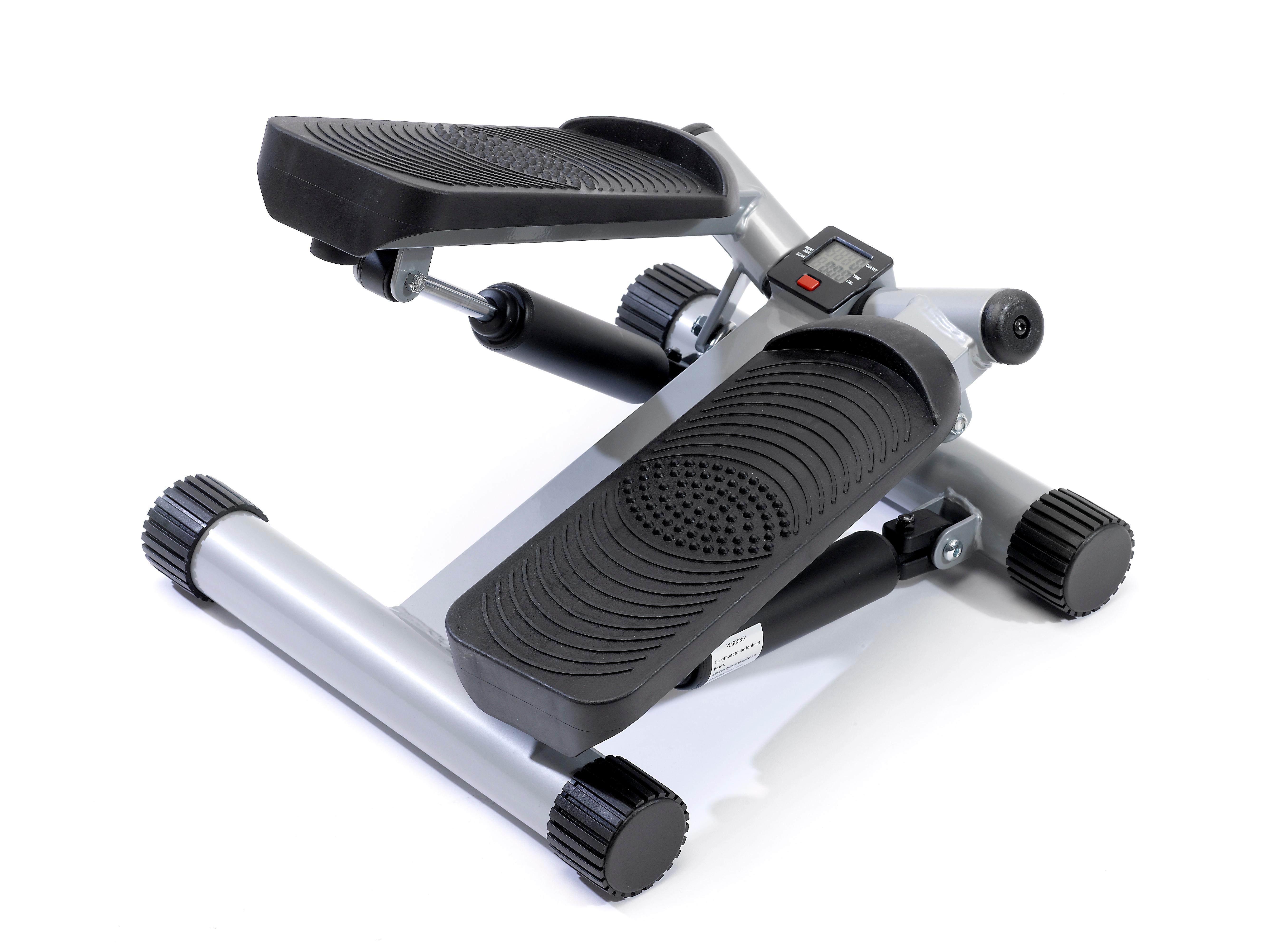 sportplus side stepper mit zugb ndern und trainingscomputer sp msp 001 sport freizeit. Black Bedroom Furniture Sets. Home Design Ideas