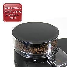 beem germany fresh aroma perfect kaffeemaschine mit mahlwerk rot ebay. Black Bedroom Furniture Sets. Home Design Ideas