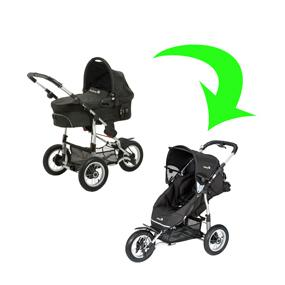 safety 1st ideal sportive kinderwagen set und reisesystem blau ebay. Black Bedroom Furniture Sets. Home Design Ideas