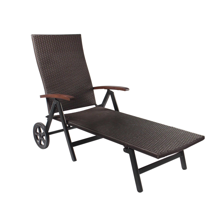 vanage emma geflecht rollenliege gartenliege liege garten entspannung relax neu ebay. Black Bedroom Furniture Sets. Home Design Ideas
