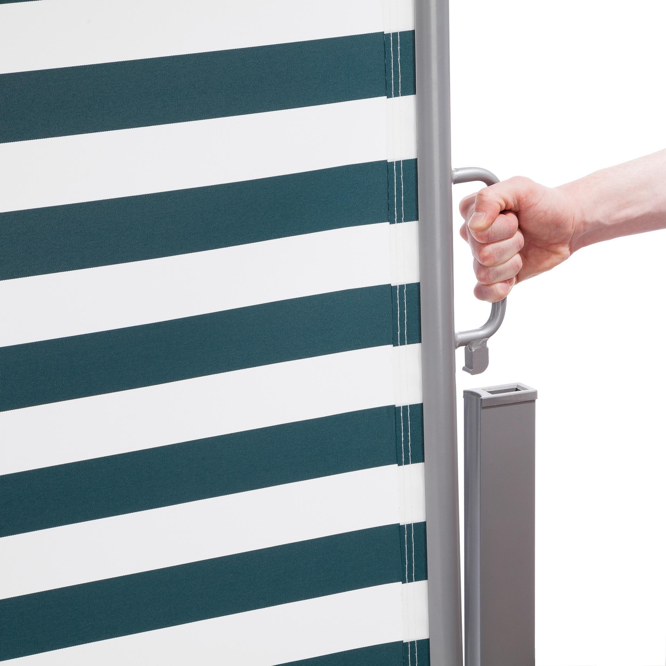 ultranatura seitenmarkise maui seitenrolle als sichtschutz zur vertikalbefestigung. Black Bedroom Furniture Sets. Home Design Ideas