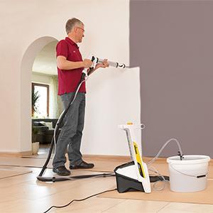 wagner wandfarben spr hsystem wallperfect w 995 baumarkt. Black Bedroom Furniture Sets. Home Design Ideas