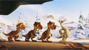 Кадры из фильма Ледниковый период 3: Эра динозавров (Ice Age: Dawn of the Dinosaurs) .