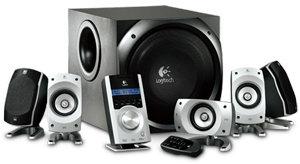 logitech z 5500 505 w rms 5 1 thx hifi lautsprecher computer zubeh r. Black Bedroom Furniture Sets. Home Design Ideas