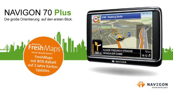 navigon 70 plus navigatore display 12 7cm 5 pollici europa 43 tmc sensore di distanza. Black Bedroom Furniture Sets. Home Design Ideas