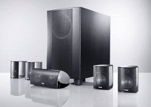 Canton Movie 125 MX 2-Wege 5.1 Lautsprecher-System schwarz ...