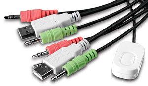 umschalten monitor kvm switch digitus