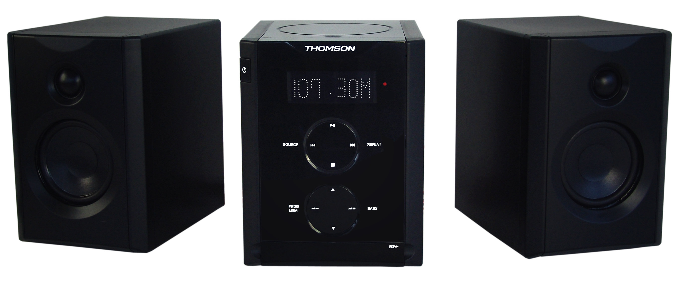 thomson mic 200 impianto stereo con radio orologio mp3 cd. Black Bedroom Furniture Sets. Home Design Ideas
