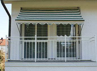angerer klemmmarkise dralon nr 8700 gr n 300 cm db740. Black Bedroom Furniture Sets. Home Design Ideas