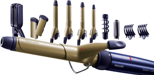 Philips Hairstyler Hp4698 Straightener Curler Price In