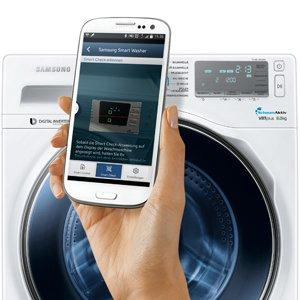 vernetzte hausger te waschmaschinen und. Black Bedroom Furniture Sets. Home Design Ideas