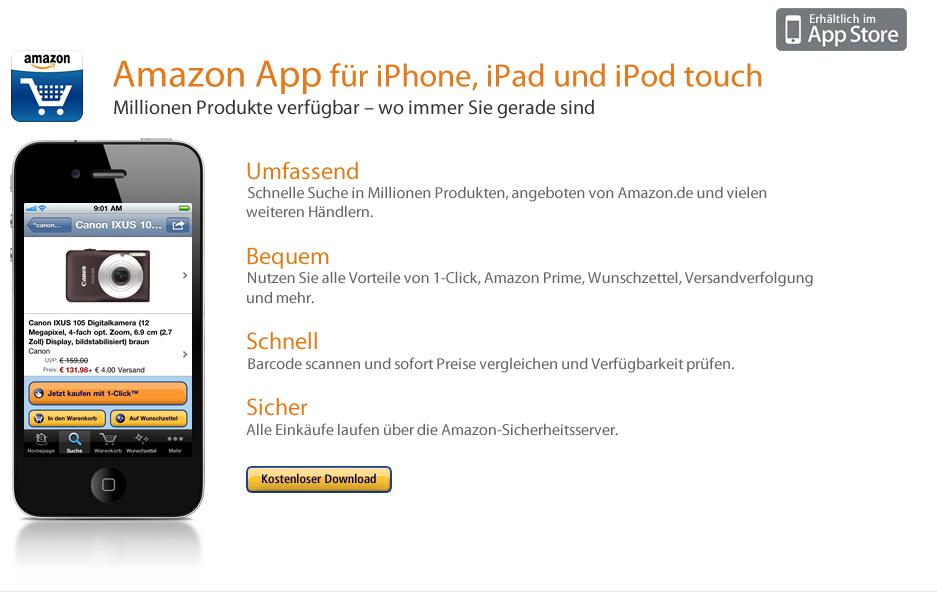 Amazon barcode app iphone