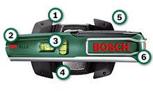 bosch pll 5 laser wasserwaage wandhalterung 5 m arbeitsbereich baumarkt. Black Bedroom Furniture Sets. Home Design Ideas