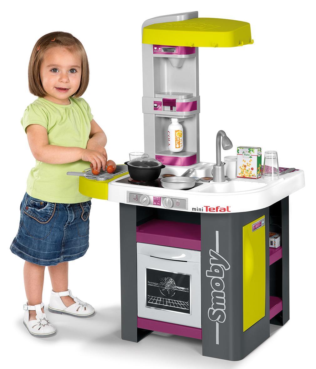 smoby 024128 jeu d 39 imitation tefal cuisine studio barbecue jeux et jouets. Black Bedroom Furniture Sets. Home Design Ideas