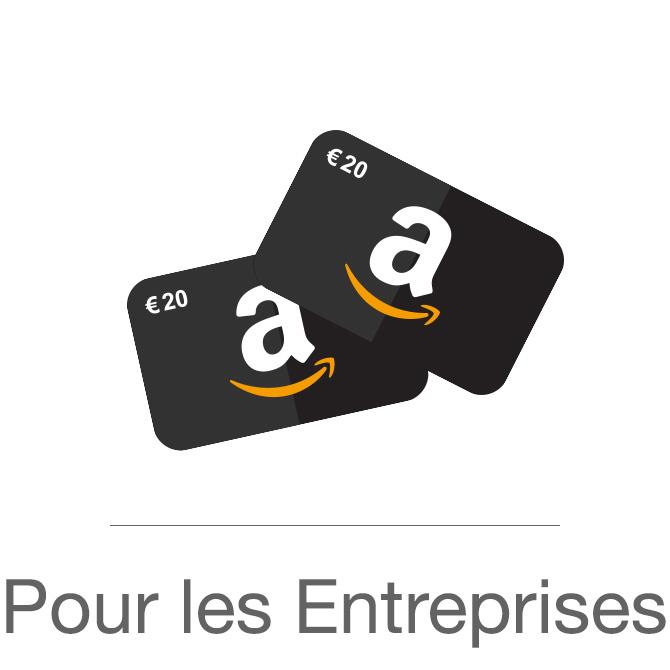 Amazon bon cadeau liquide