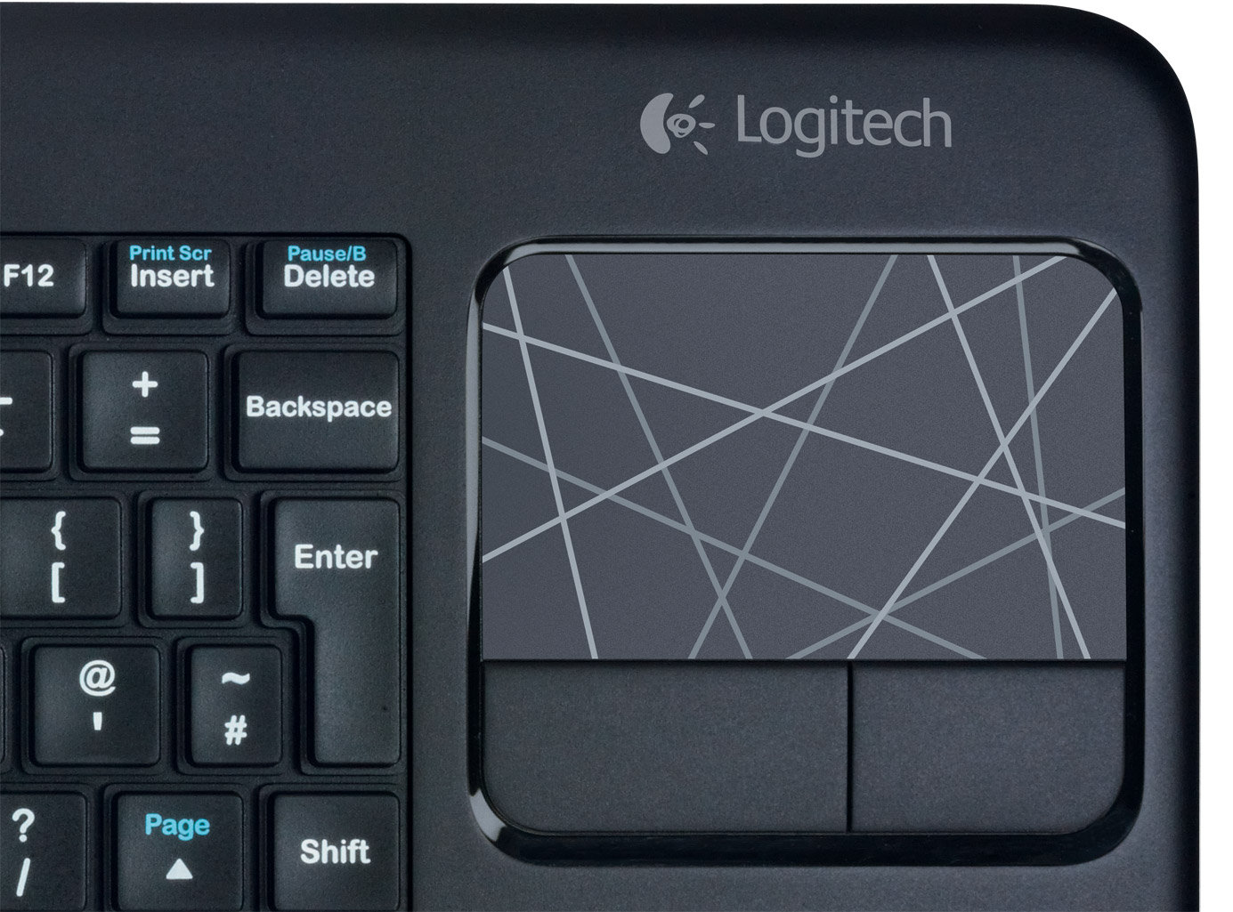 Logitech Wireless Touch Keyboard K400 Uk Layout Amazon